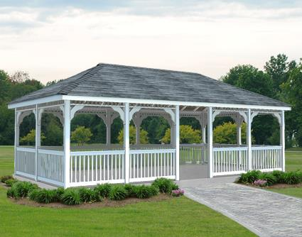 Gazebo Creations 12' x 20' Vinyl Rectangular Gazebo at Sears.com