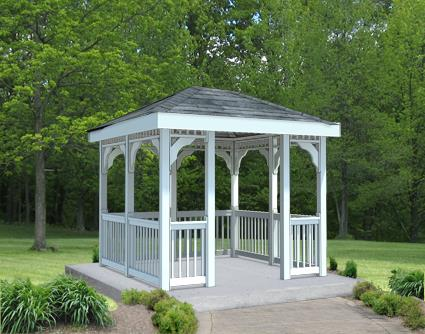 Gazebo Creations 8' x 10' Vinyl Rectangular Gazebo at Sears.com