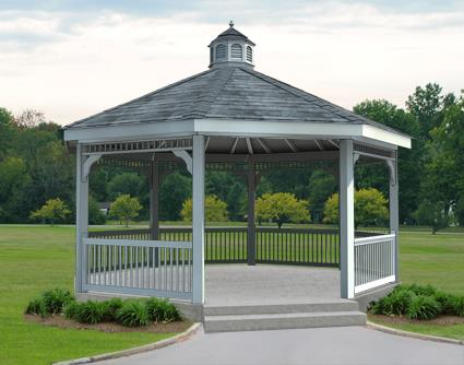 Gazebo Creations 18' Vinyl Octagon Gazebo at Sears.com