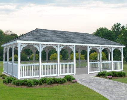 Gazebo Creations 16' x 32' Vinyl Rectangular Gazebo at Sears.com