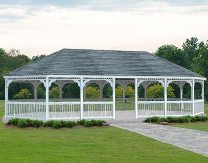 Gazebo Creations 18' x 36' Vinyl Oval Gazebo at Sears.com