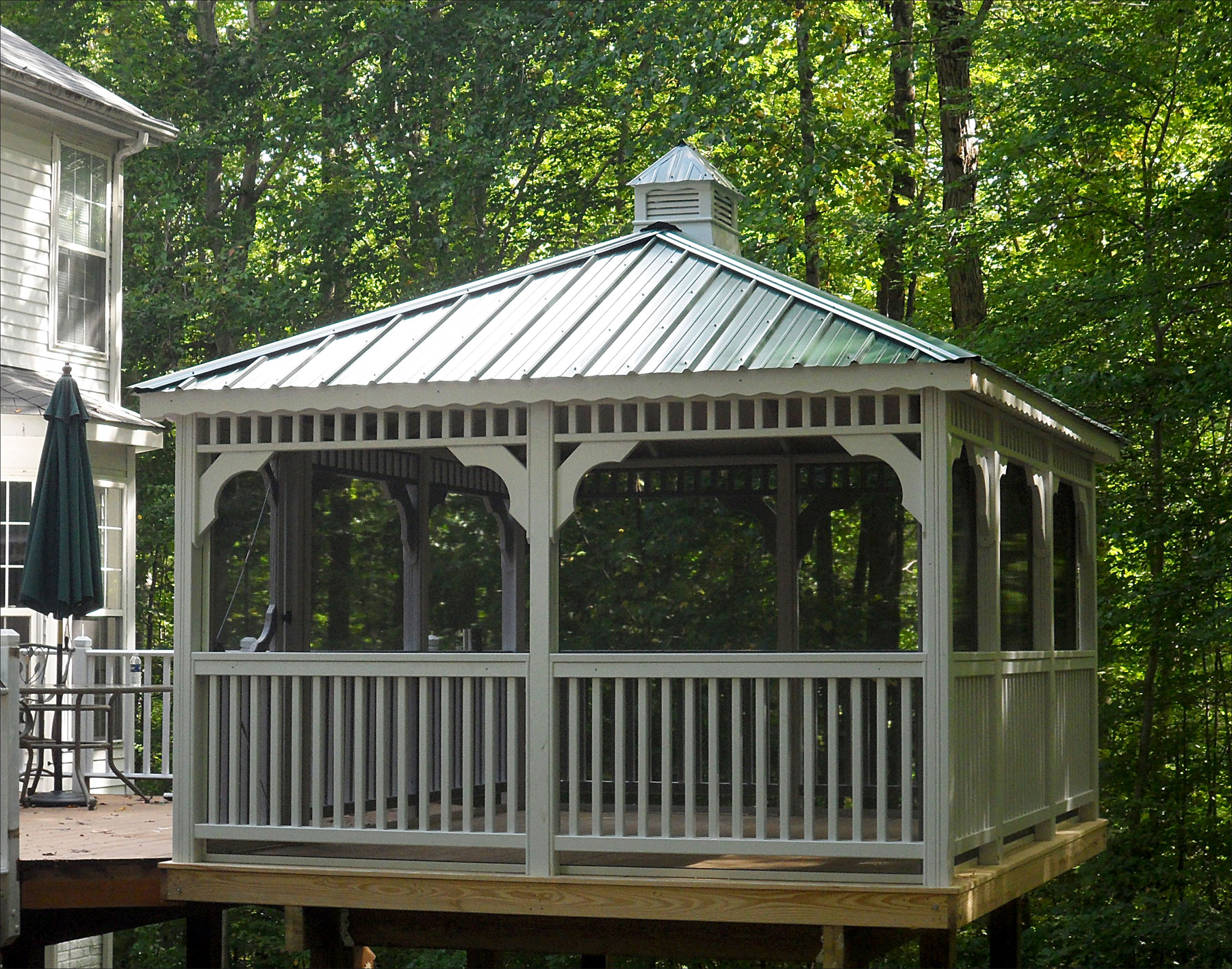 Customer S Photo 10 X 16 Treated Pine Rectangle Gazebo