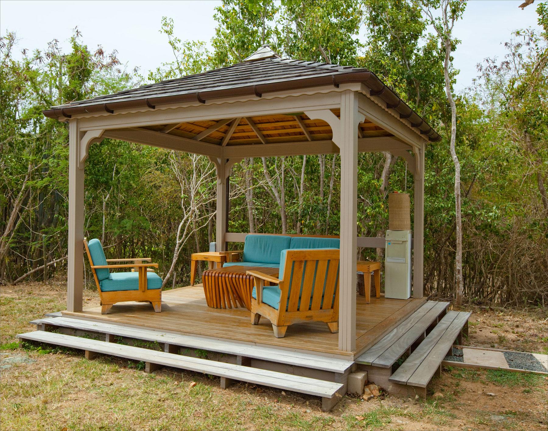gazebo kits outdoor gazebos pine vinyl cedar our backyard gazebos