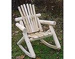 White Cedar Unstained Rocker