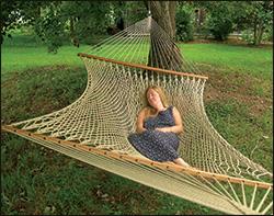 stratford silkspun rope hammock backyard hammocks   fifthroom    rh   fifthroom