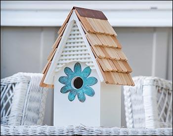 Pvc Flower Power Birdhouse