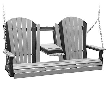 5' Poly Lumber Adirondack Swing