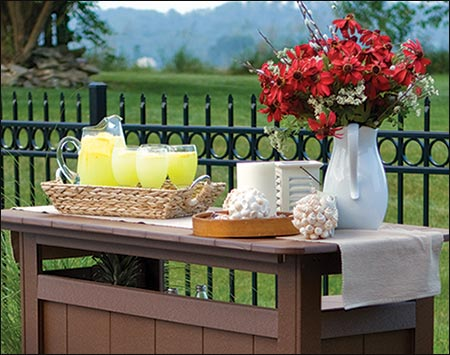 Poly lumber outdoor bar - Stehtische dekorieren ...