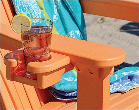 Poly Lumber Comfo Back Adirondack Chair