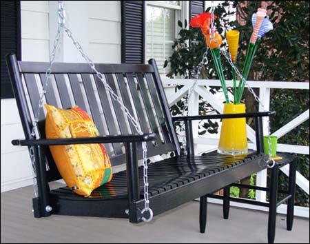Ash Greensboro Porch Swing