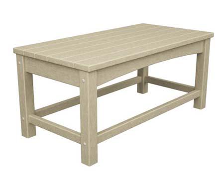 POLYWOOD Union Coffee Table - Polywood coffee table