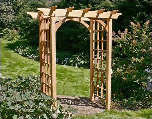 Wood Arbors Arbor Kits Fifthroomcom