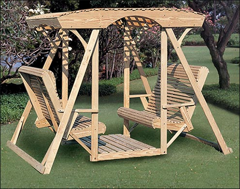 Porch Glider Chairs | Wood Patio Glider Benches   Fifthroom