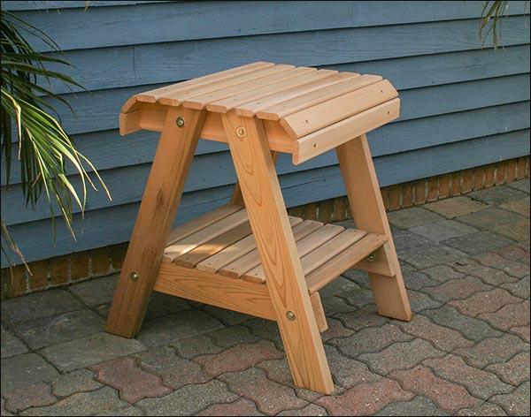 Red Cedar Patio Table