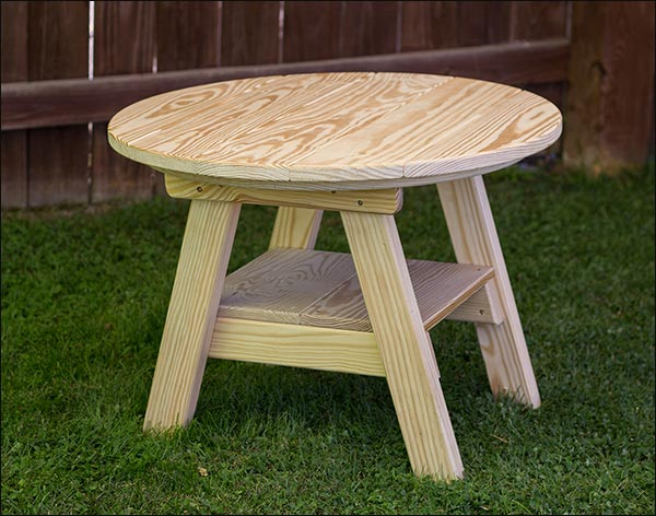Treated Pine Round Table
