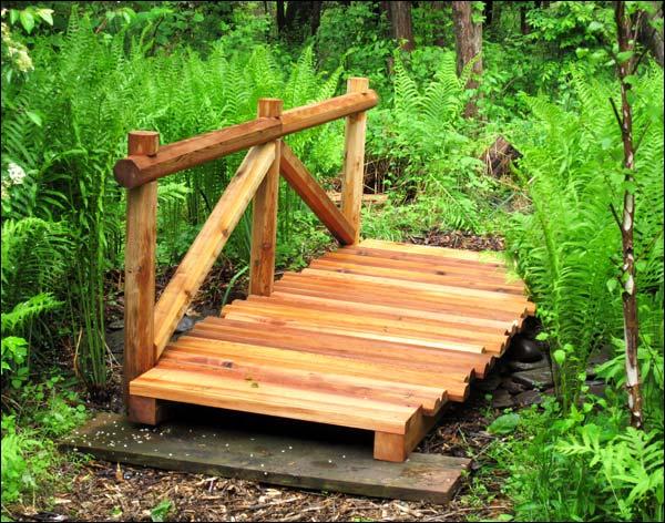 8' Cezanne's Red Cedar Trail Bridge