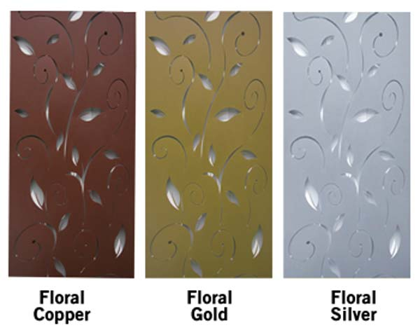Powder Coated Steel Panels