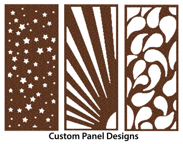 powder coated privacy panels - Decorative Panels