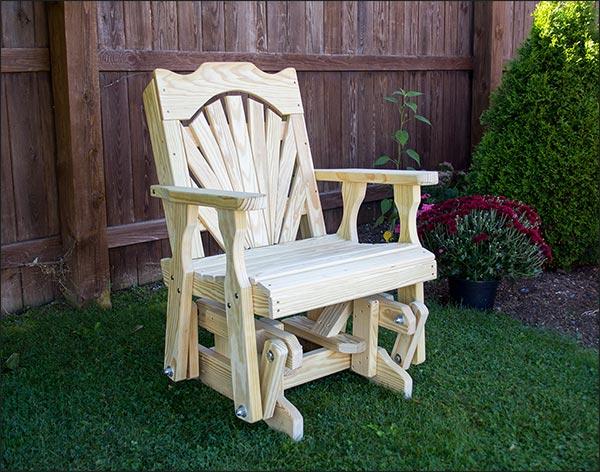 Fanback Glider Chair