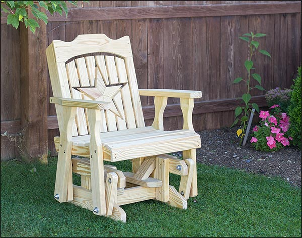 Treated Pine Starback Glider Chair