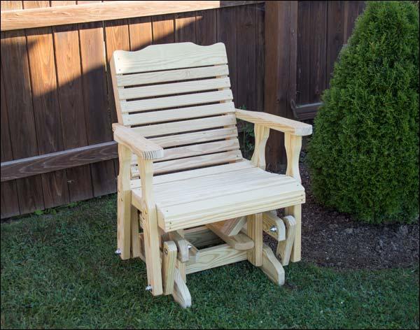 Crossback Glider Chair