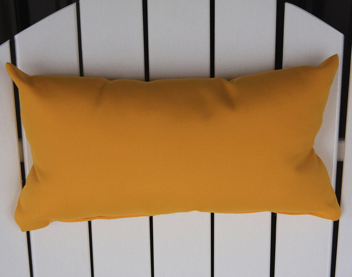 Ordinaire Acrylic Adirondack Chair Head Pillow Shown In Yellow