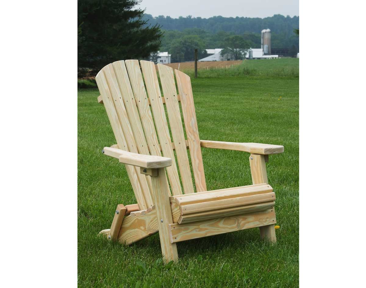 sc 1 st  Fifthroom.com & Treated Pine Folding Adirondack Chair