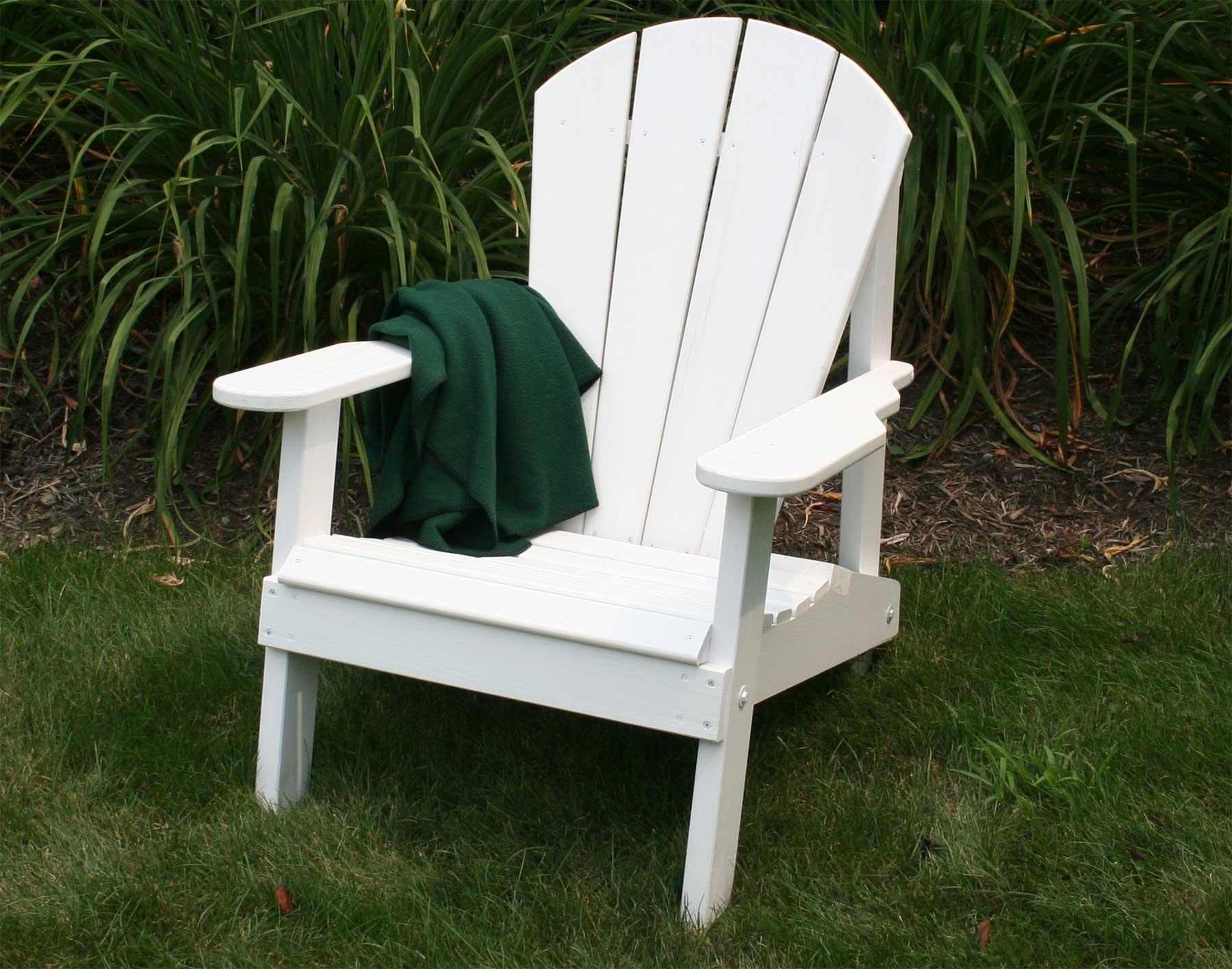 Red Cedar Southern Wide Slat Adirondack Chair
