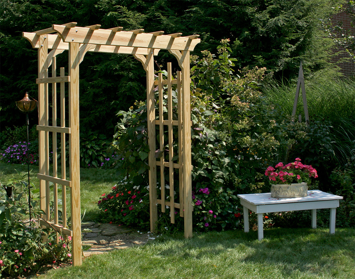 Why You Need An Entrance Arbor In Your Garden Today