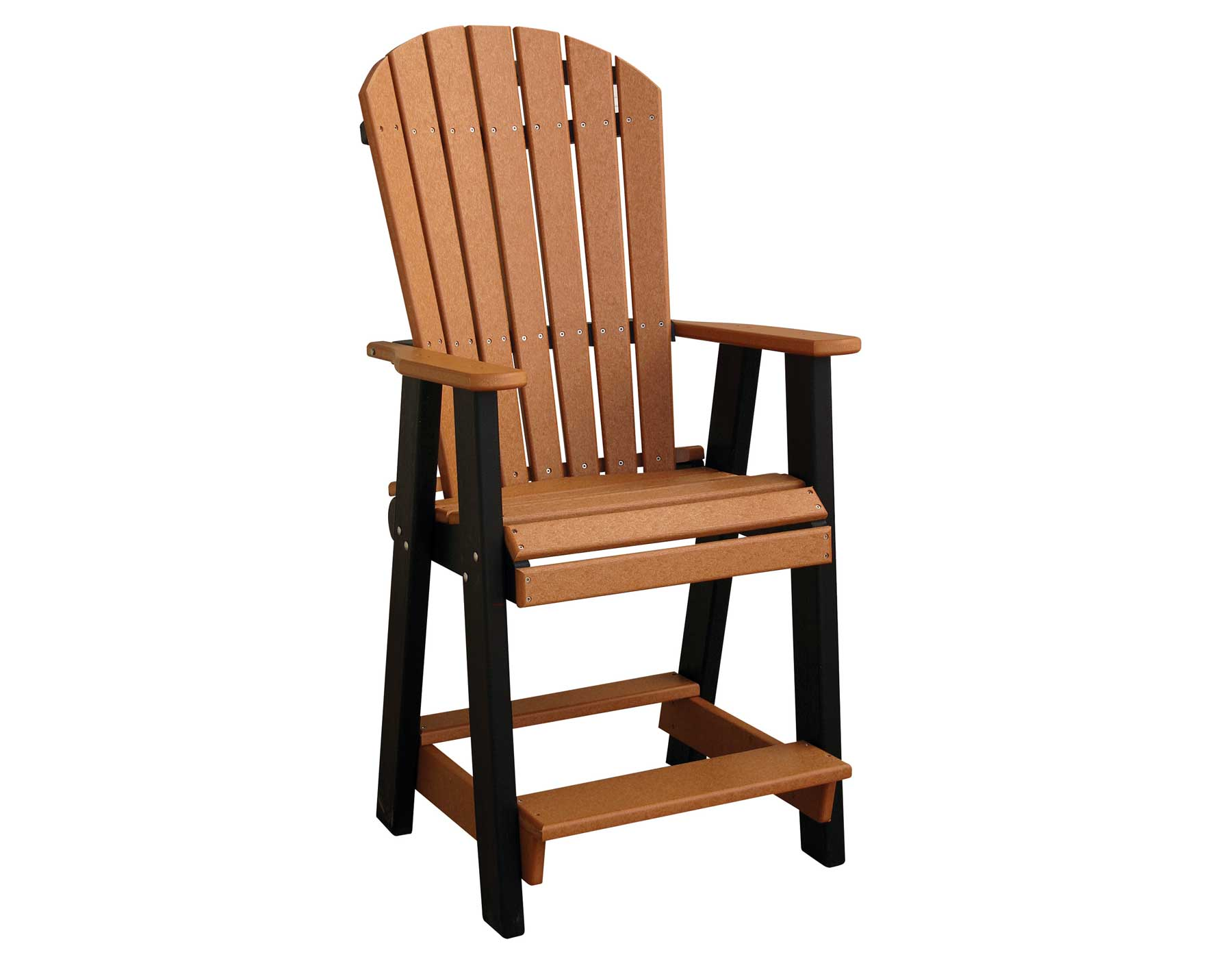 Poly Lumber Pub Table w 3 Balcony Chairs