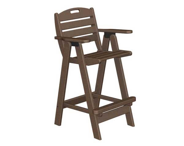 nautical bar stools custom outdoor polywood nautical bar stool chair