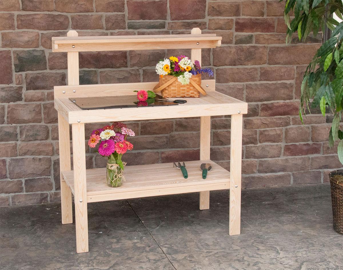 Cypress Garden Work Table