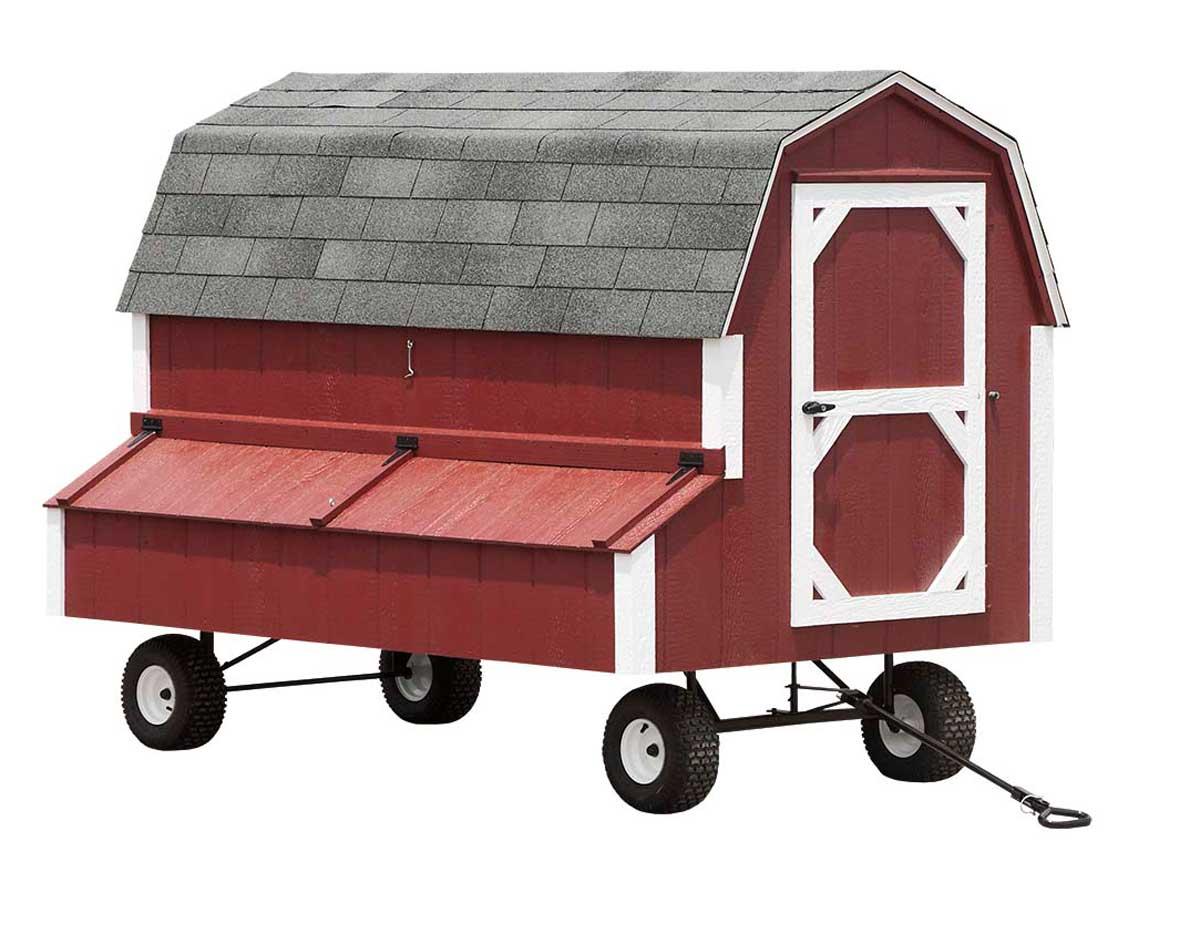 Dura Temp Chicken Coop W Wheels