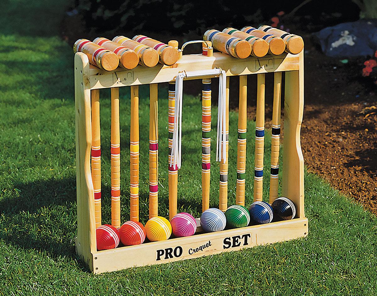 8 Player Croquet Set