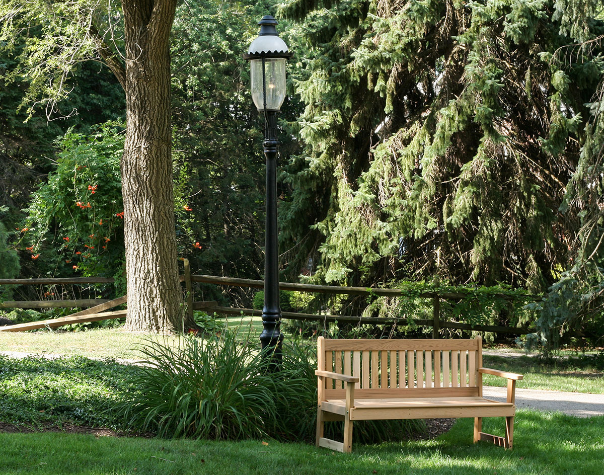 Red Cedar English Garden Bench
