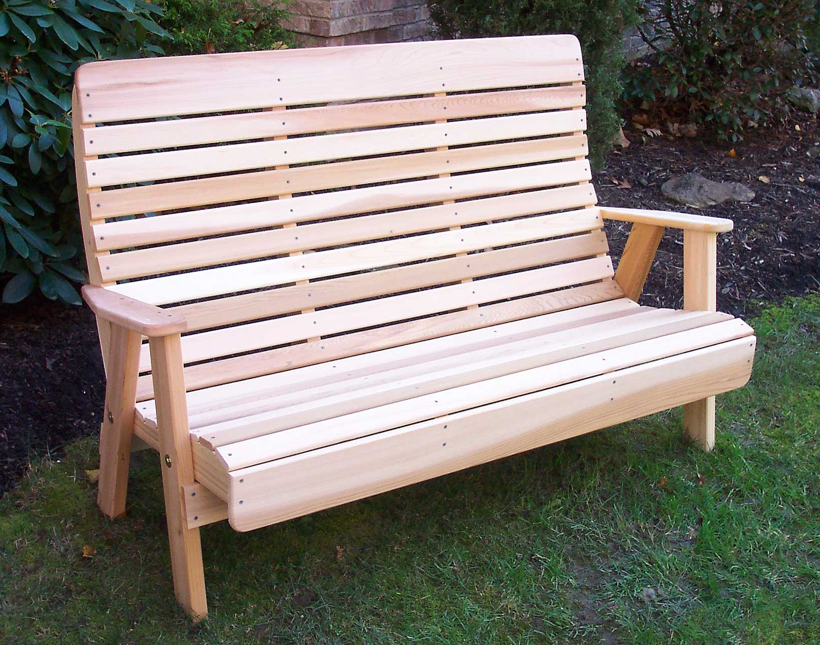 Red Cedar Royal Highback Garden Bench