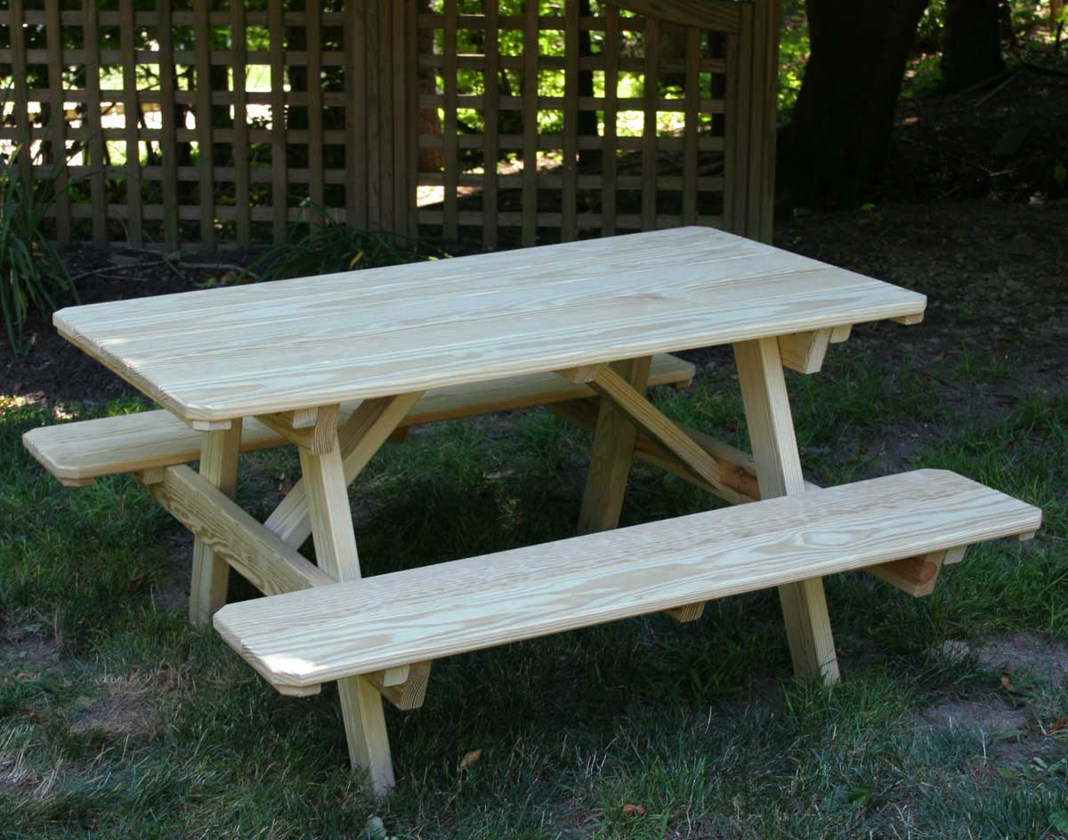 Kids picnic table - Treated Pine Kids Picnic Table