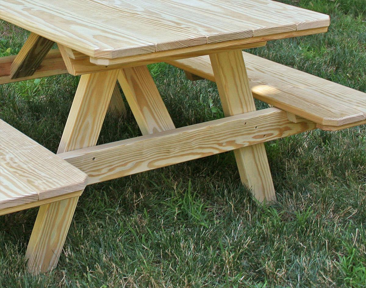 Treated Pine Kids Picnic Table - Treated Pine Kid's Picnic Table