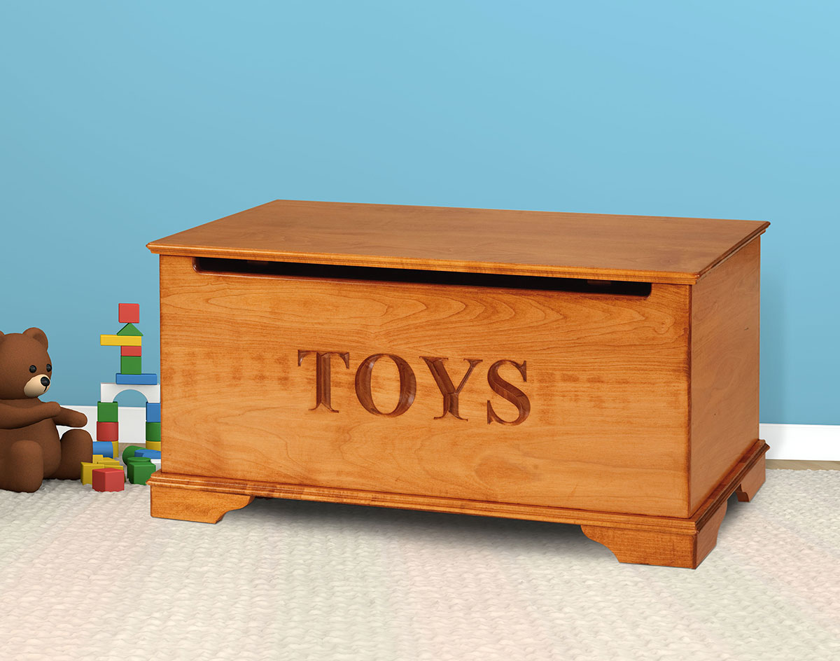 plans to make a wooden toy chest | Quick Woodworking Projects