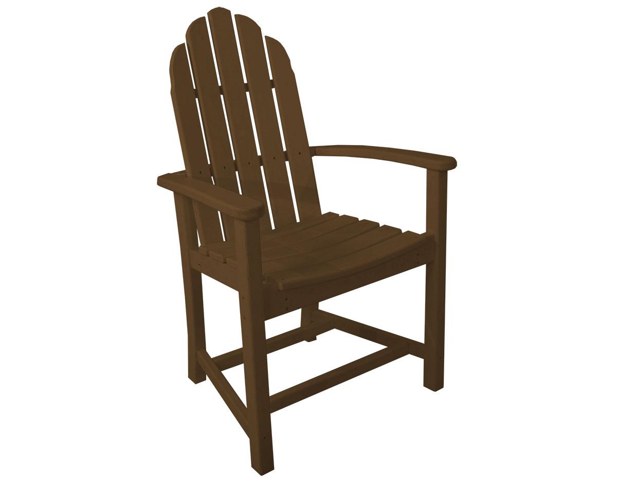 POLYWOOD Classic Adirondack Dining Chair : POLYWOOD Classic Adirondack Dining Chair 7046 A from www.fifthroom.com size 1200 x 943 jpeg 56kB