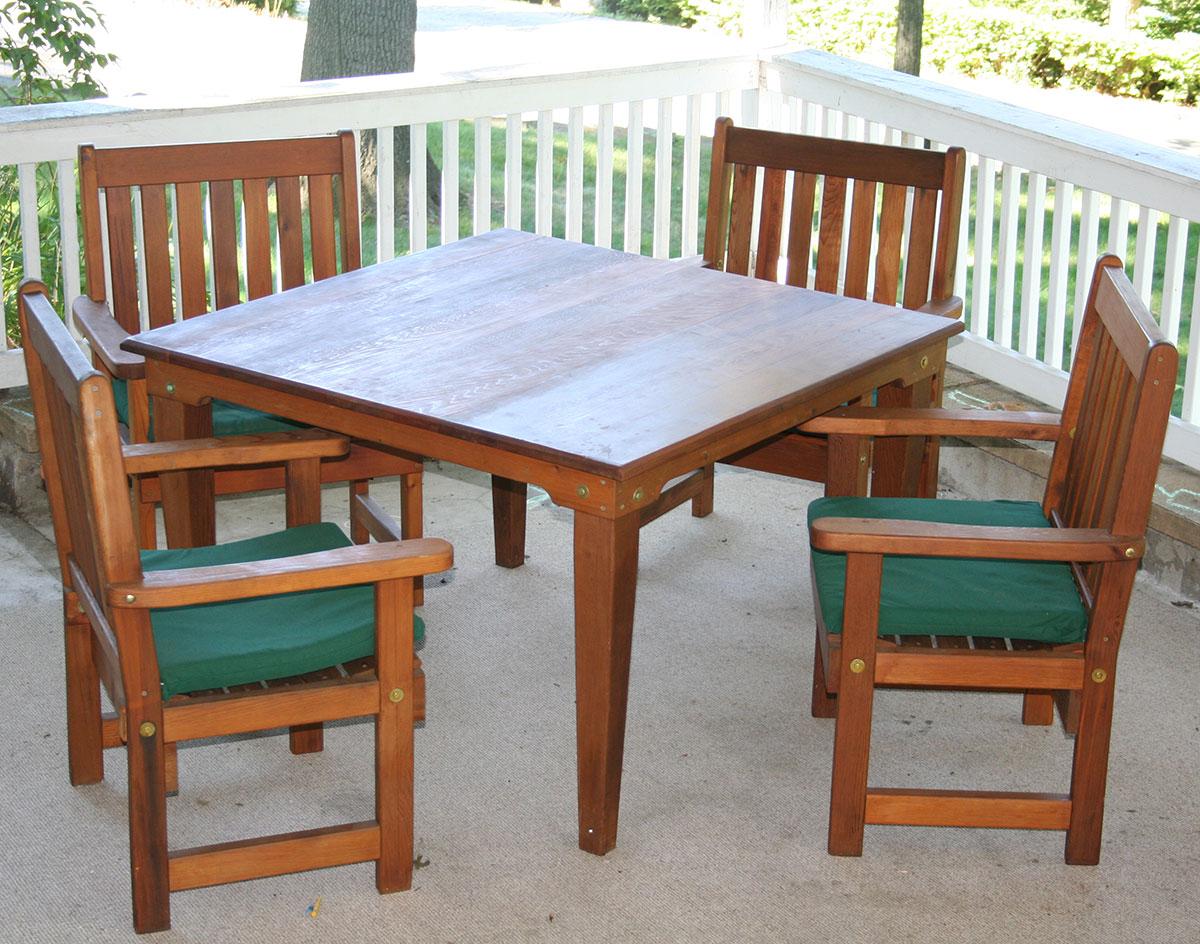 Cedar Garden Furniture Red cedar english garden patio chair workwithnaturefo