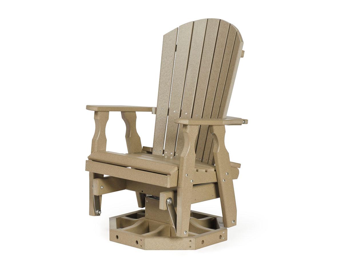 Amazing Poly Lumber Adirondack Swivel Glider Uwap Interior Chair Design Uwaporg