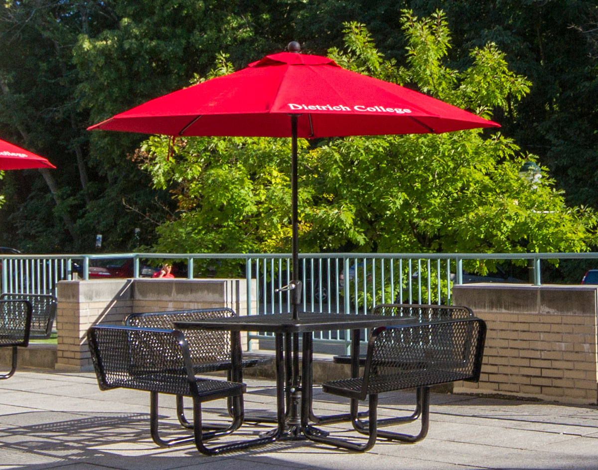 Metal Picnic Tables With Umbrellas Table Design Ideas - Metal picnic table with umbrella