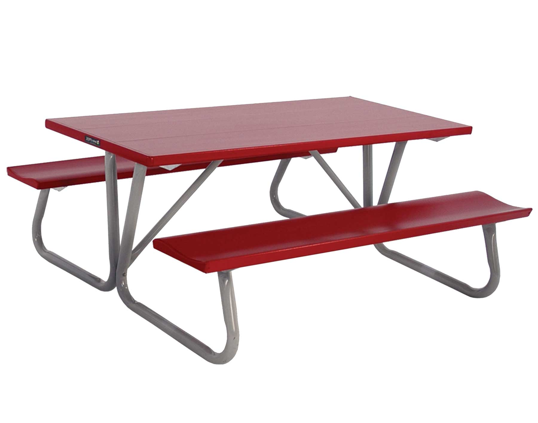 Picnic Sets For 6 6' Folding Picnic Table