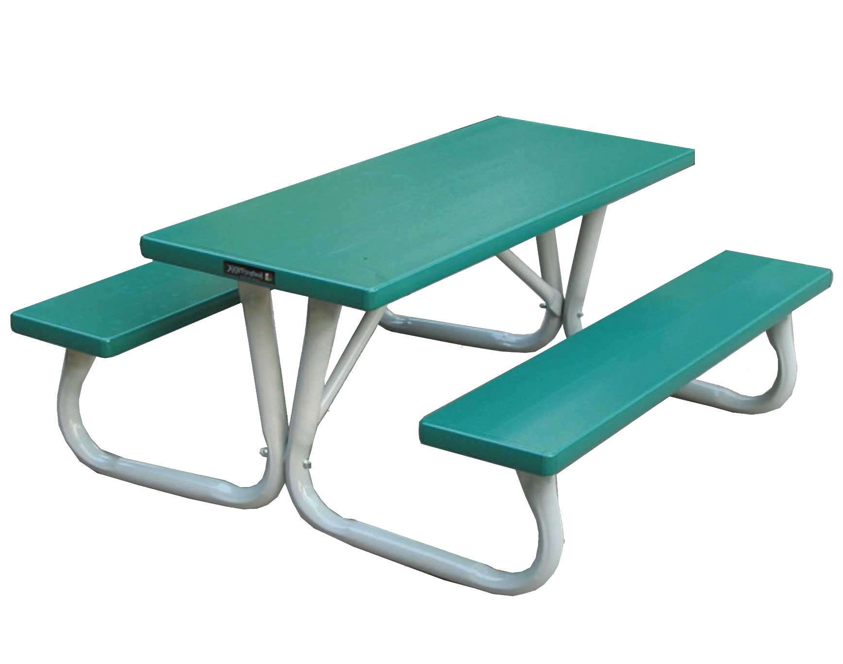 Charmant 6 Aluminum Folding Kids Picnic Table