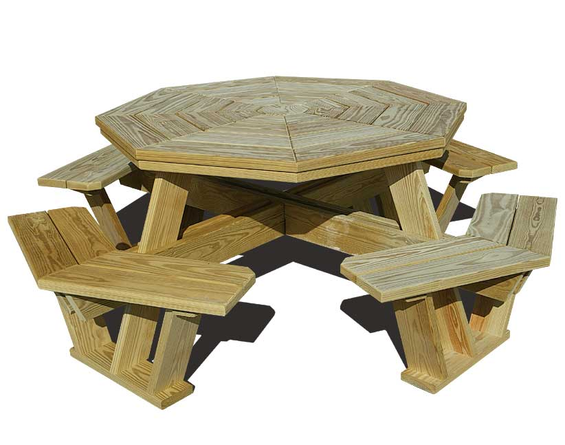 PDF DIY Wooden Hexagon Picnic Table Plans Download wooden ...