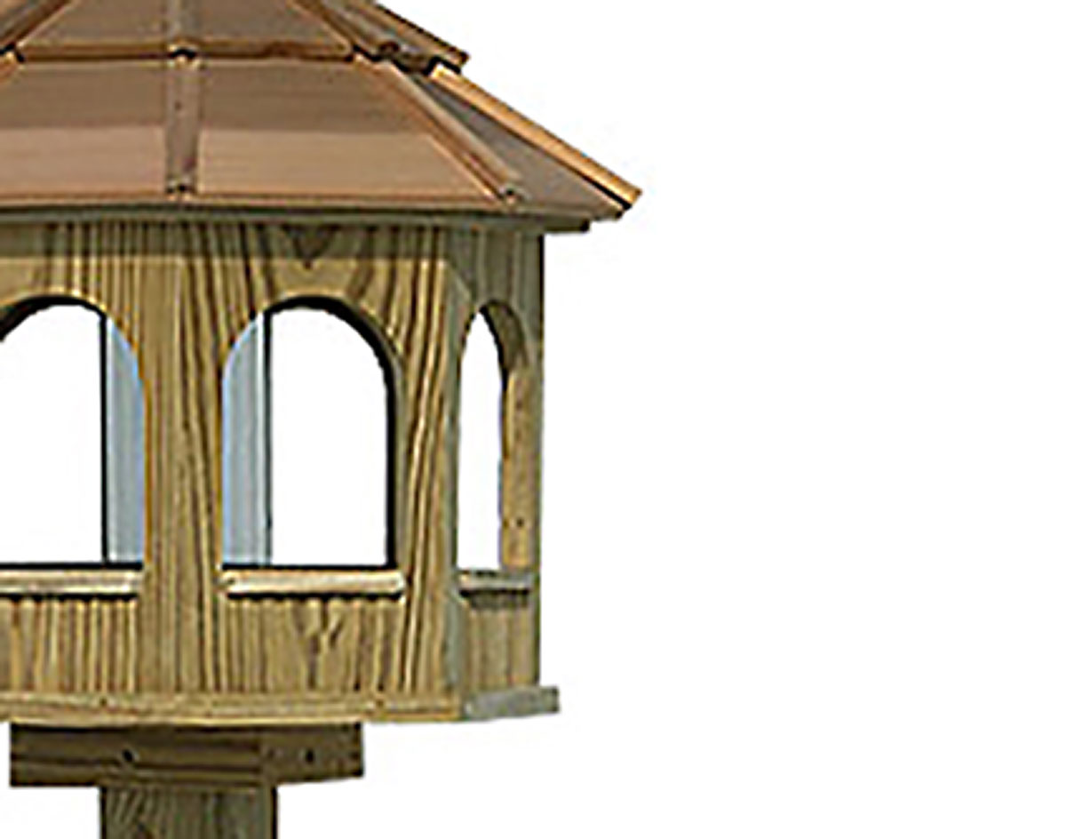 audubon dp deluxe gazebo bird wild com hopper garden outdoor woodlink amazon feeder