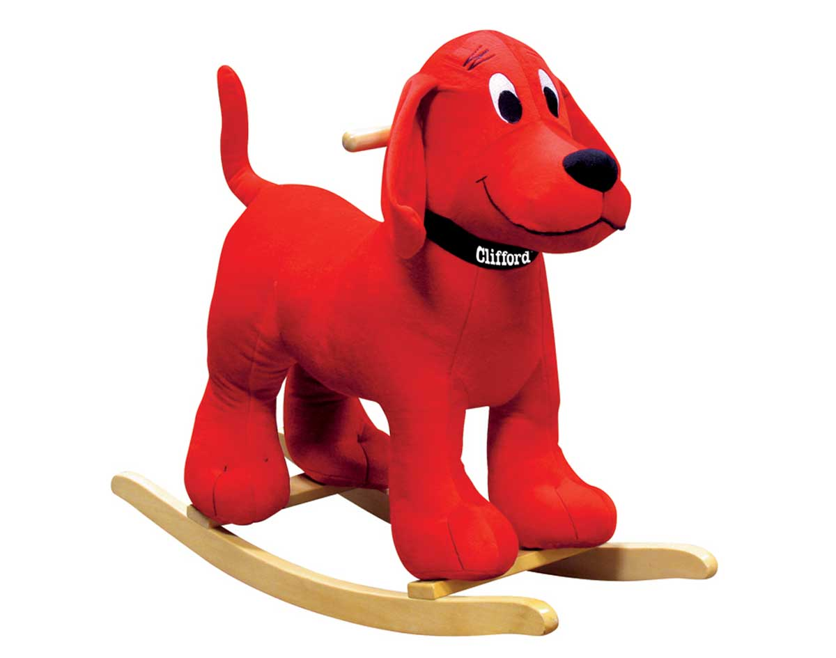 Clifford The Big Red Dog Poodle Plush Clifford The Big Red