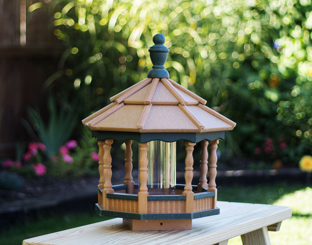chic decorating gazebo shabby ideas bird feeder product