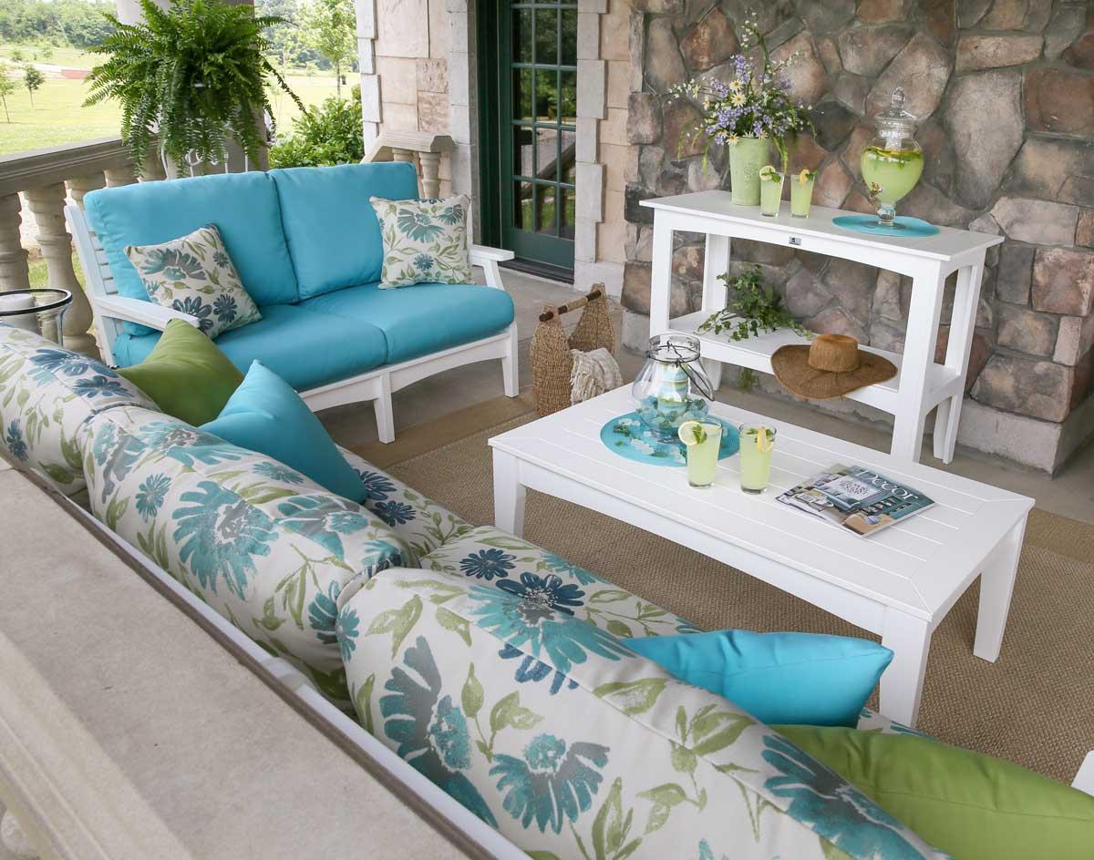Sunbrella Cushions Free Clara Wicker Sunbrella Fabric  : Poly Wood Classic Terrace Loveseat B from www.alkotshnews.com size 1200 x 944 jpeg 134kB